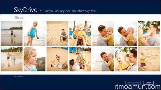SkyDrive, App SkyDrive, Windows 8,  iCloud