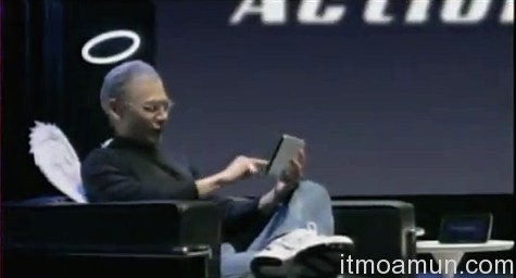 Steve Jobs, Action Pad