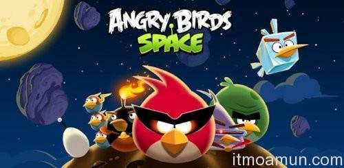 Angry Birds Space, เกมส์ Angry Birds Space, นกโกรธตะลุยอวกาศ