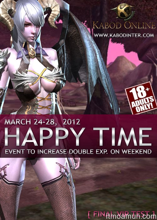 Kabod Online, เกมส์ Kabod Online, เกมส์ Kabod Online เพิ่ม EXP