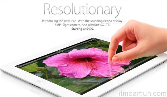 iPad รุ่นใหม่, Retina Display, Siri