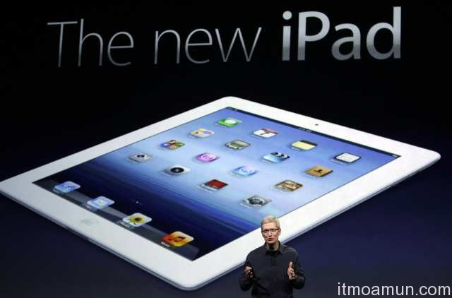 Apple เปิดขาย The new iPad วันที่ 27 เมษายนนี้แน่นอน