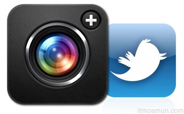 ทวิตเตอร์, Camera+, Twitter, เฟซบุ๊ก, Facebook, Facebook Instagram