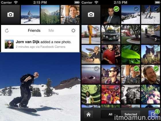 Facebook Camera เหมือน Instagram เลย!