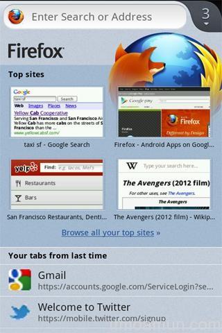 Firefox for Android Beta ปรับอินเตอร์เฟซเป็น Australis เพิ่มประสิทธิภาพ