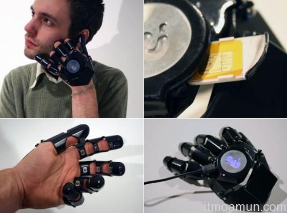 โทรศัพท์มือถือถุงมือ Glove One