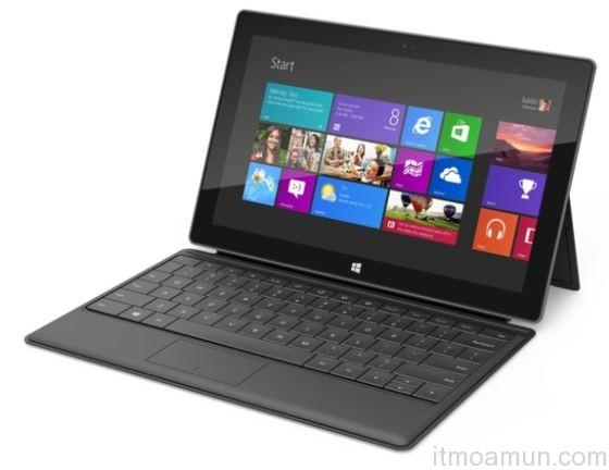 Microsoft ลุยแท็บเล็ตส่ง Surface Tablet Windows 8 เข้าสู้