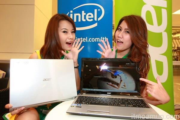 Acer ตามกระแสโอลิมปิก ขายคอมพ์เอดิชันพิเศษ