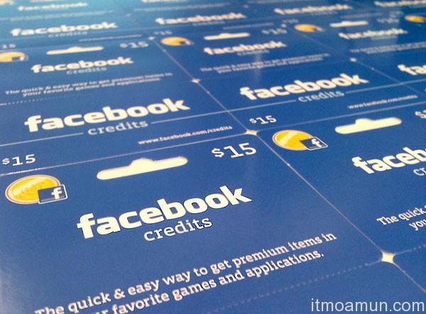 Facebook Credits, Facebook, FB, สกุลเงินท้องถิ่น