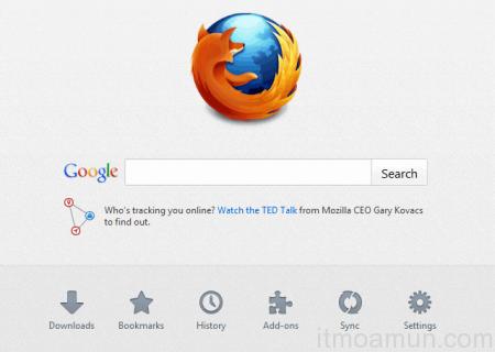 Firefox Version 13 ปรับหน้าตาใหม่พร้อมเพิ่มความเร็ว