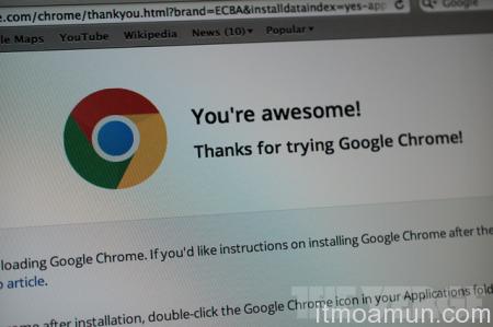 Google เปิดตัว Chrome for Mac