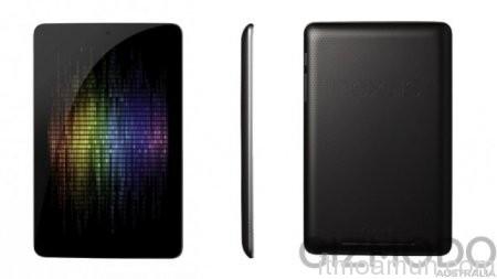 Google Nexus แท็บเล็ตหน้าจอ 7 นิ้ว