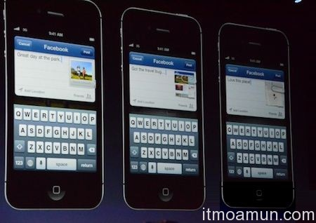 iOS 6 อัพเกรด, iOS 6 , Maps, Siri, Facebook