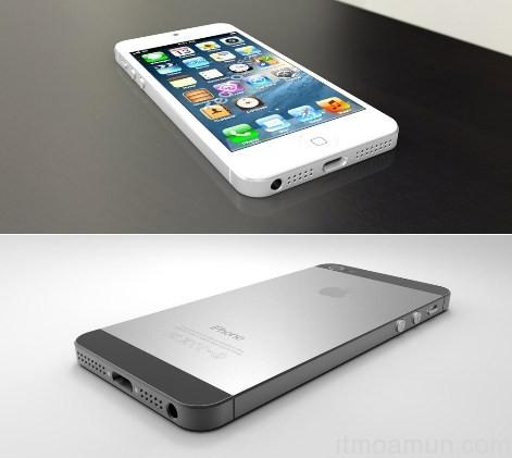 iPhone 5, iPhone,  ภาพ iPhone 5, iPhone 5 ดีไซน์, iPhone 5 vs iPhone 4 S